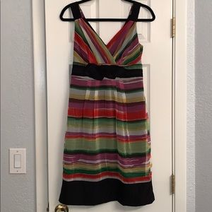 The Limited striped dress